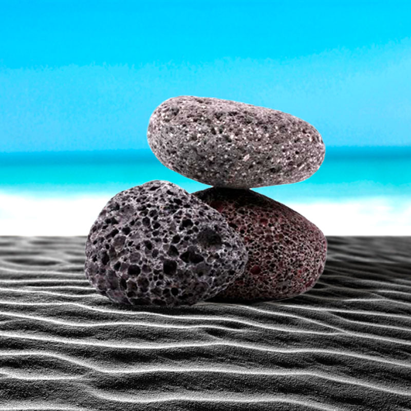 Volcanic sand