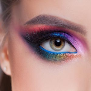 make-up therapy eye color