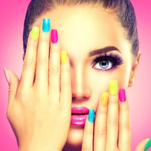 make-up therapy nail color